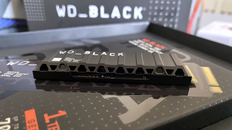 WD Black SN850 Series delivers extremely high performance and excellent dissipation