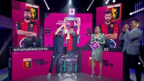 eSerie A TIM | PES 2021: Genoa eSports has won the first virtual Scudetto