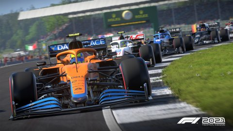 F1 2021 for PS5, ray tracing gives too many problems, disabled with patch 1.04