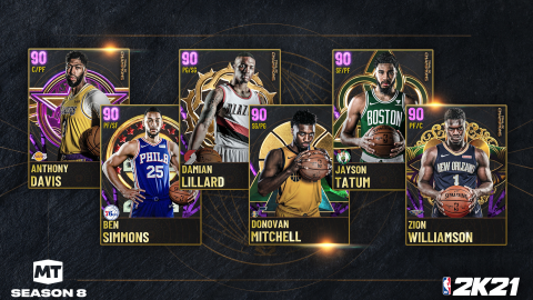 NBA 2K21 prepares for the NBA Finals with MyTEAM Season 8