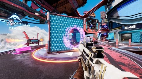 Splitgate: no battle royale mode, at least for the moment