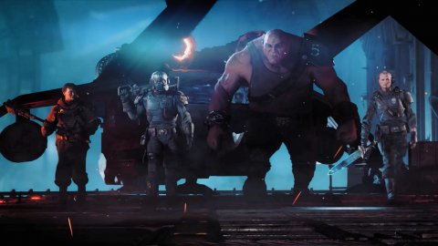 Warhammer 40,000: Darktide is written by Dan Abnett, author of Shadow of Mordor