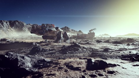 Starfield, new images and details on the setting and construction of the universe