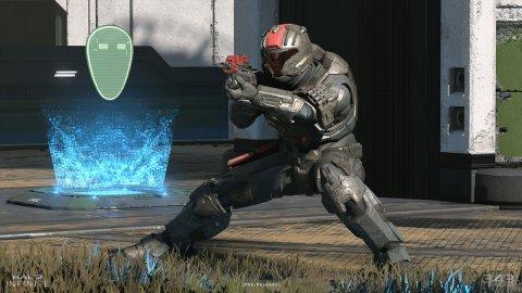 Halo Infinite beta: On Xbox Series X it runs at around 100 FPS