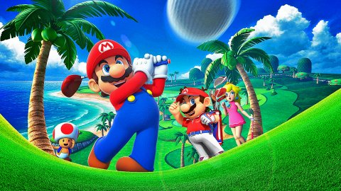 Mario Golf: Super Rush, the story of the Nintendo series