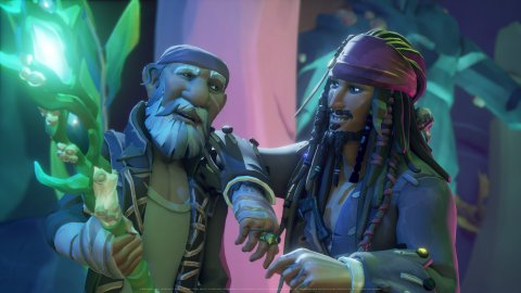 Sea of Thieves: Major Nelson was about to reveal the collaboration with the Pirates of the Caribbean by mistake