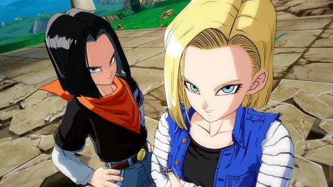 Dragon Ball, Kasuzame's cosplay of androids C18 and C17 is a rare case