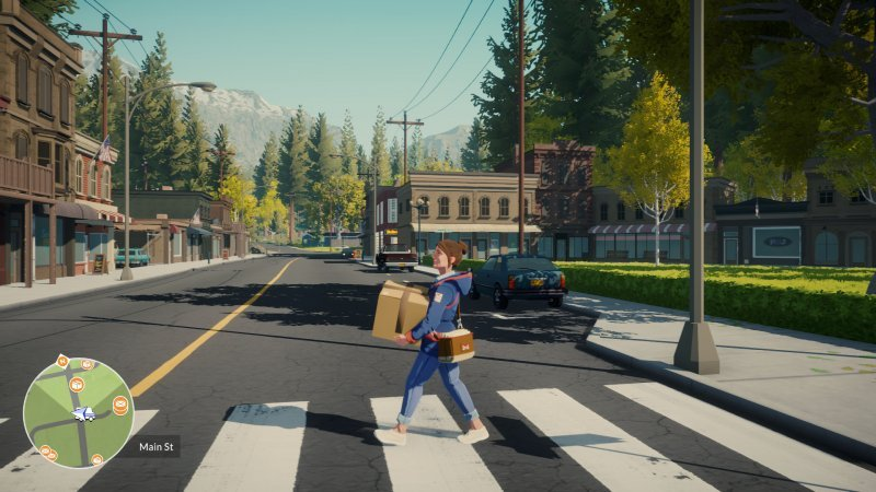 There is no risk of missing a delivery at the Lake.  Its gameplay conveys a message, not a challenge.