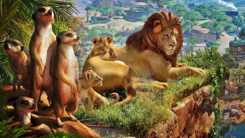 Planet Zoo: Africa Pack, the tried