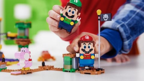 LEGO Super Mario, trailer for Luigi and 2-player mode, available from August