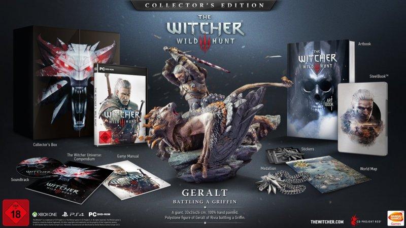 Edição de colecionador de The Witcher 3: Wild Hunt