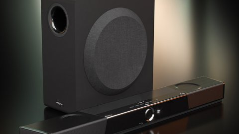 Creative SXFI Carrier is the first soundbar with Super X-Fi holography and Dolby Atmos