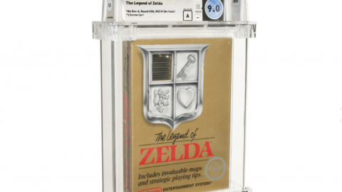 The Legend of Zelda, a rare 1987 copy at auction, at a shocking price