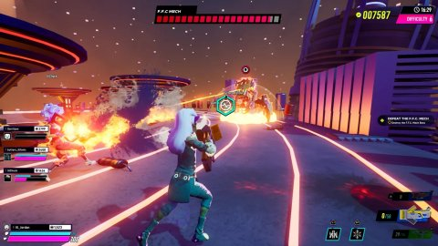 Arcadegeddon, AMD Super Resolution on PC and PS5 with the latest update