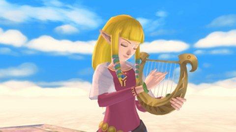 The Legend of Zelda: Nintendo traces the evolution of the princess ahead of Skyward Sword HD