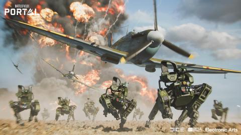 Battlefield 2042: sarà difficile distinguere i bot dai giocatori umani, dice Ripple Effect