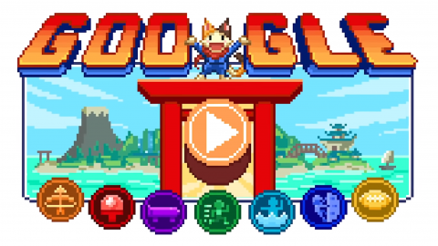 Google, the latest doodle is a full-blown role-playing game dedicated to the Olympics