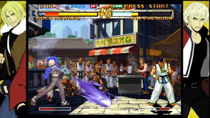 Garou: Mark of the Wolves é um dos mais recentes jogos clássicos de luta de ponto 2D