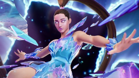 Fortnite: the Rift Tour with Ariana Grande on video