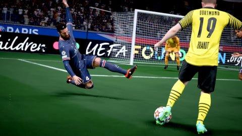 FIFA 22: day broken in Italy, evidence circulates on Facebook