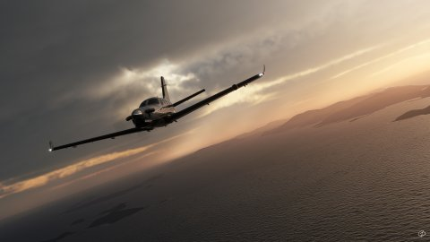 """Microsoft Flight Simulator: how to use the """"photo mode"""" with the dynamic pause and change view"""