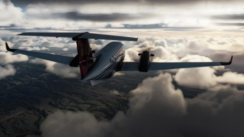 Microsoft Flight Simulator: A player has almost reached space, here is the video