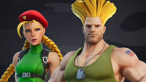 Fortnite X Street Fighter: Guile and Cammy land in Epic Games' Battle Royale
