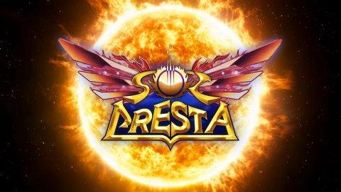 Sol Cresta: Platinum shows the arcade cabinet of the new shmup