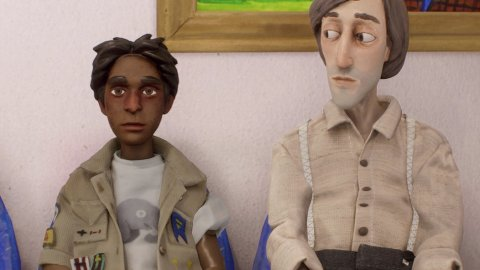 Harold Halibut, in the preview we discover the Slow Bros stop-motion adventure