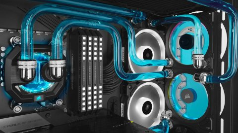 CORSAIR Hydro Series XD7 RGB: New liquid dissipation system with pump, reservoir and fans