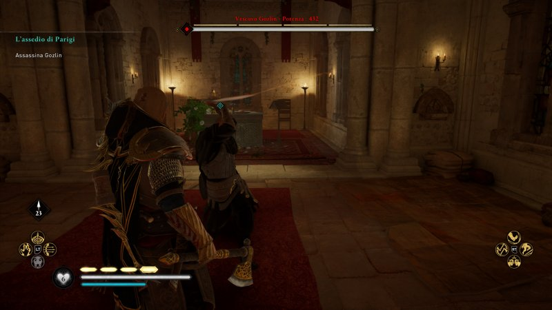 Assassin's Creed Valhalla: The Siege of Paris, uma das batalhas contra chefes que teremos de completar