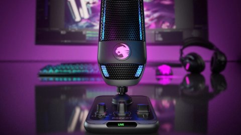 ROCCAT Torch: the new USB condenser microphone for gamers, streamers and content creators