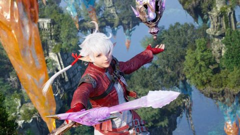 Final Fantasy XIV: the new artwork is dedicated to Alisaie Leveilleur