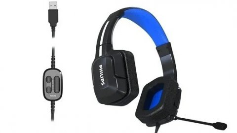 Philips TAGH301BL and TAGH401BL: technical specifications of the new gaming headsets