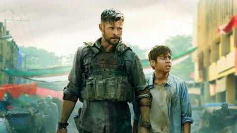 Fortnite, Chris Hemsworth in the game as Tyler Rake from the Netflix movie?