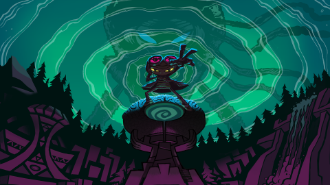 Psychonauts 2: a video tells us about pins and upgrades