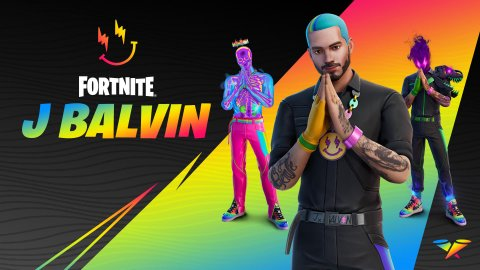 Fortnite: J Balvin arrives in the Icons series with themed skins, emotes and cup