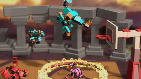 RoboDunk, the preview of an all-Italian NBA Jam in roguelike sauce