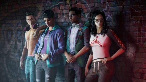 Saints Row: The fanbase does not appreciate the characters and the team responds in kind