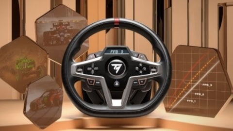 T248, Thrustmaster announces a new generation wheel for PC, PS4 and PS5