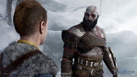 God of War: Ragnarok, a video comparison with the previous game shows the differences