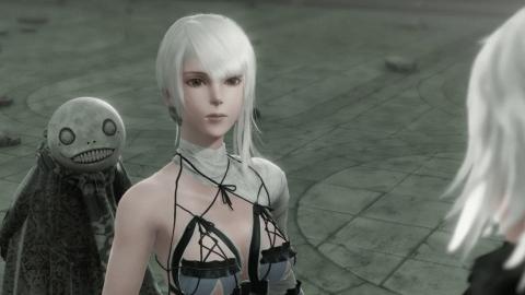 Nier: disharmonica's Kaine cosplay is very faithful to the original