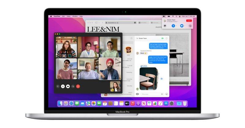 MacBook Pro con macOS Monterey