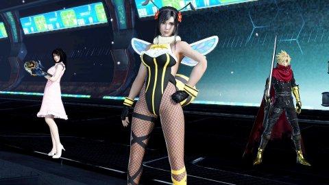Final Fantasy 7: likeassassins Honey Bee Tifa cosplay is provocative
