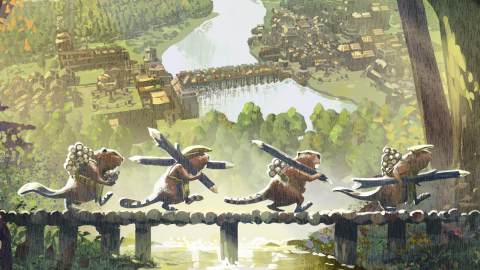 Timberborn, the tried and true of a city builder starring post apocalyptic beavers