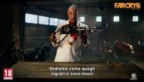 Far Cry 6: Giancarlo Esposito smonta le armi dei guerriglieri