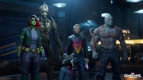 Guardians of the Galaxy: dimensioni del download su PS5, PS4, PC e Xbox Series S