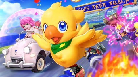 Chocobo GP, the preview for Nintendo Switch