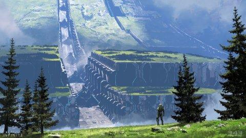 Halo Infinite: sistema di upgrade ed elementi open world dal trailer della Campagna