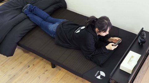 Gaming beds and mattresses arrive from Japan, finally